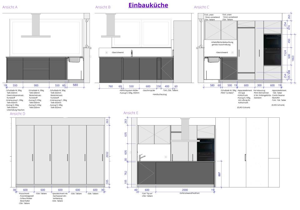 Planung und Ausschreibung Einbauküche | Reto Thoma | Beratung ... | {Küchenplanung ansicht 33}